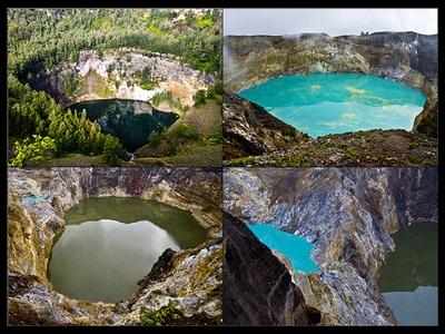 danau ini oleh dunia disebut sebagai salah satu dari sembilan keajaiban tiga warna terletak di gunung kelimutu flores ntt