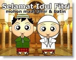 Download Kartu Ucapan Selamat Idul Fitri 1433 H