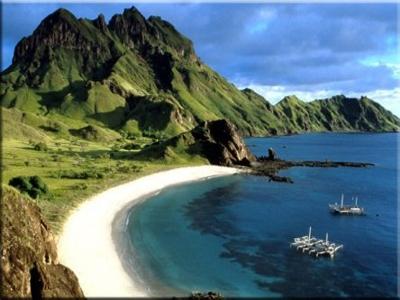 Daerah Tujuan Wisata Alam Indonesia Beauty Pulau Komodo Kandidat Calon